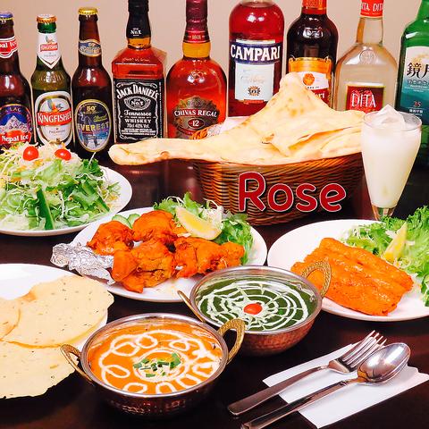 インド・ネパールレストラン Rose(ローズ) 川崎