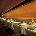 【貸切OK★】テーブル席は120席。シートアレンジが可能ですので2~30名様まで対応可。パーティの際は30~120名様まで対応可能です。