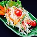 料理メニュー写真青パパイヤのスパイシーサラダ