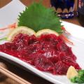 料理メニュー写真熊本県産 馬刺し