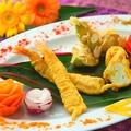 料理メニュー写真季節野菜のインディアンフリット盛合わせ