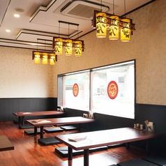 広々としたお座敷は宴会にも最適!30名様までご利用いただけるゆったりシートです。