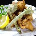 料理メニュー写真イカの天ぷら