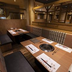 ビーファーズはお子様連れのご家族様でも気軽にお食事ができる、カジュアルな雰囲気の焼肉レストランとなっております。