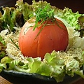 料理メニュー写真冷やしまるごとトマト