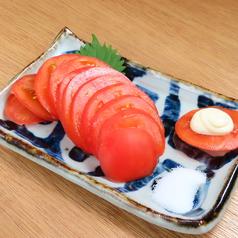 冷やしトマト/キムチ/もずく酢/たこわさ/チャンジャ/めだまオニオン