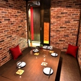 プライベート感重視のドア付き完全個室を多数ご用意しております!