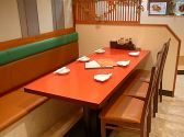 6名様テーブルはゆったりとご利用いただけます!ご家族連れにも◎