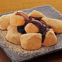 黒蜜黄な粉のわらび餅
