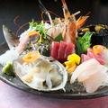 料理メニュー写真三陸海の幸 刺身盛り合わせ(1人前)