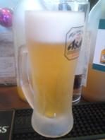 生ビールはいつでも練馬一冷えています!!