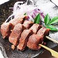 料理メニュー写真砂ズリ串焼(2本)