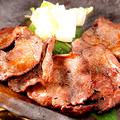 料理メニュー写真牛タン瓦焼き