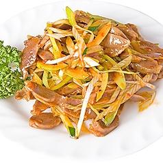 干し豆腐の和え物/砂肝の和え物