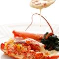料理メニュー写真オマール海老のロティ 燻製風味の香りソース