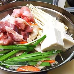 鶏スープの水炊き鍋