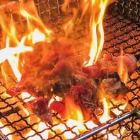本格炭火焼きの薩摩地鶏は当店の自慢メニューです!