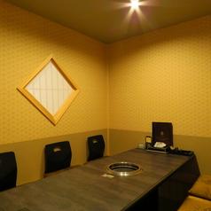 掘りごたつ式の完全個室。2名様~ご利用可能◎大型宴会も可能です。最大135名様までOKです。【焼肉/個室/飲み放題/大分/府内】