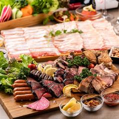 個室 塊肉×農園野菜 Nick&Noojoo 新橋本店のコース写真