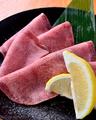 料理メニュー写真上塩タン