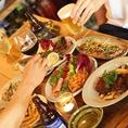 コース料理は2500円から受け付けております。