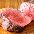 料理メニュー写真【国産牛】なかやま牛いちぼのステーキ 150g