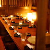 《新宿完全個室肉バル》団体様でもOKのテーブル個室をご用意!最大120名様可能!様々な対応のお席をご用意しているので、シーンに合わせてご利用いただけます!!夜景の見えるお席は大人気♪お気軽にお問合せください!貸し切りの場合は電話予約必須です!!宴会、パーティー、同窓会にぜひ★