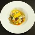 自家製ベーコンと有機野菜のラタトゥーユ