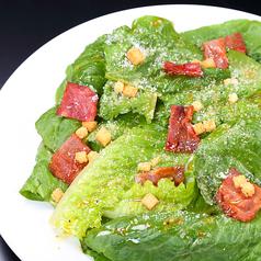 料理メニュー写真ロメインレタスのシーザーサラダ