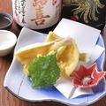 料理メニュー写真キスの天ぷら