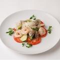 料理メニュー写真海鮮と野菜のチーズソテー