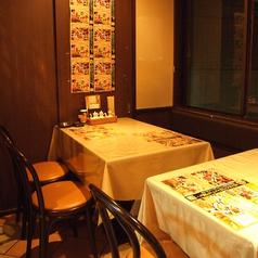 1階奥4~8名様テーブル席