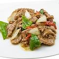 料理メニュー写真牛肉の黒胡椒炒め/牛肉の四川風炒め/牛肉のオイスター炒め