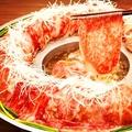 料理メニュー写真★名物!肉炊きしゃぶしゃぶ&タンしゃぶ