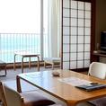 和室はゆったりと心落ち着く空間になっております。ご家族やご年配のお客様に好評。