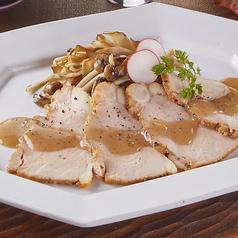 【9・10月限定】ポルチーニ香る和豚もちぶたローストポーク