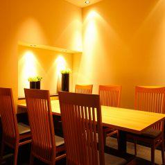 2名~10名収容可能のテーブル個室