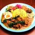 料理メニュー写真スリランカ風チキンカレー