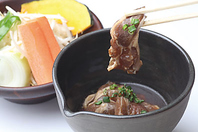 ラムリブロースジンギスカン(野菜付き)