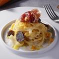 贅沢な食材を使用したパスタとリゾット6種