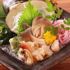 料理メニュー写真北海道産!活ほっき刺身
