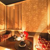 間接照明が優しく灯るお籠り空間でゆっくりと時が流れるのをお楽しみください...