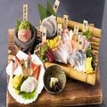 料理メニュー写真【食べる芸術品】刺盛り五点盛り 市場直送!新鮮魚介を毎日入荷☆