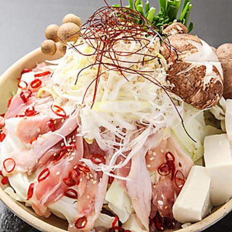 【期間限定コース】ちゃんこor黒豚バラ選べる鍋含む 2H飲み放題 全7品 3980円⇒2980円