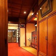 完全個室完備の一軒家風♪
