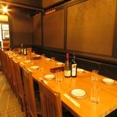 3名様~30名様テーブル席!!プライベート忘年会、宴会、接待、合コン、女子会、誕生日、記念日等の各種宴会・飲み会にも最適なお席も完備しております♪★小伝馬町・日本橋エリアのアジアンバル♪