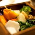 料理メニュー写真蒸し野菜