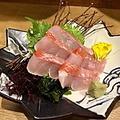 料理メニュー写真地金目鯛刺身
