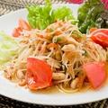 料理メニュー写真青パパイヤのサラダ(ソムタム・タイ) ハーフorレギュラー