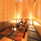 大中小個室完備で人数に応じた完全個室席をご用意させていただきます♪